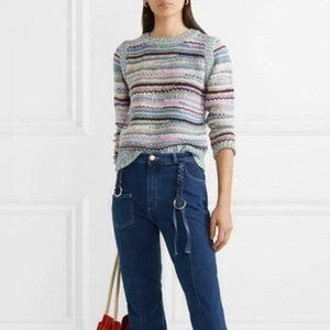 See By Chloe Striped knitted Pullover Sweater Me